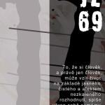 Plakát k výstavě o Janu Zajícovi