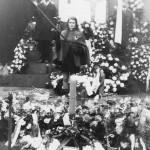 Pohřeb Jana Palacha, Václavské náměstí