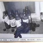 Fotografie z vyšetřovacího spisu - místo přípravy na čin