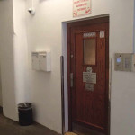 Dveře, za nimiž Jan zemřel (současný stav)