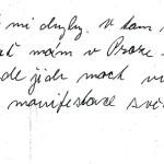Dopis rodině