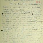 Dopis kamarádce Evě, studentce Gymnázia v Šumperku