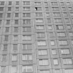 """Panelové domy – symbol normalizace, se spoustou stejných bytůPanelové domy – symbol normalizace, se spoustou stejných bytů pro občany ČSSR,kteří měli být také všichni """"stejní"""