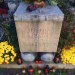 Současná podoba Janova náhrobku ve Vítkově