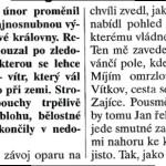 Region, 23. 2. 1999, II.