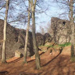 Zřícenina hradu Vikštejn nad řekou Moravicí – romantické místo, které měl Jan velmi rád